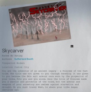 Skycarver by Sutherland Booth